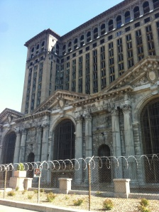 When the Michigan Railway Station was completed in 1913, it was the tallest rail station in the world.