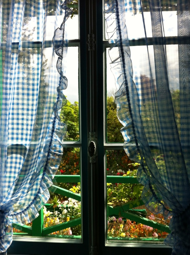 I've looked through the windows at Giverny; I don't know my grandfather's favorite view.