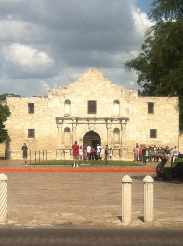 Hold up. Why is there a picture of the Alamo in this post?