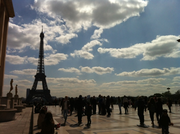 How could I not think of Paris, when I think of gratitude?