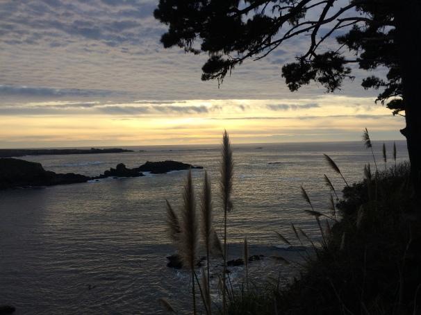 Grateful for coastal sunsets.