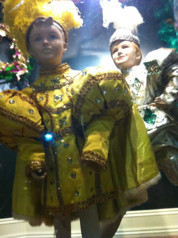 Fancy dolls fascinate and terrify.