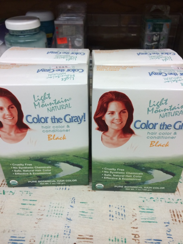 Tip: if even the color on the box is faded, try a new product to get rid of your gray.