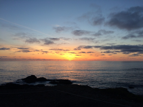 Of course, it can be equally difficult to resist the sunsets of the west coast.