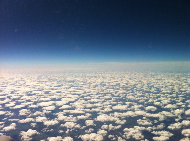 Who else dreams of clouds over a new place, paid for by someone else?