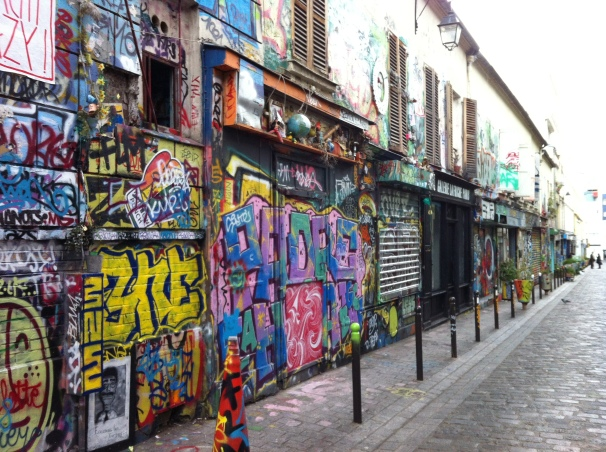 Here is the Paris I imagined: thick with art, bold in statement, even among those inclined towards graffiti.