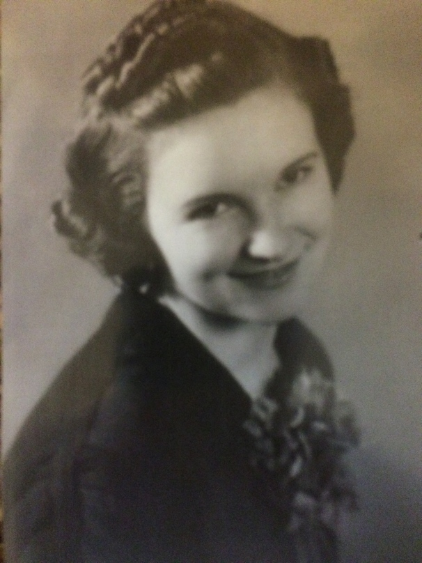 My maternal grandmother, long before I came along.
