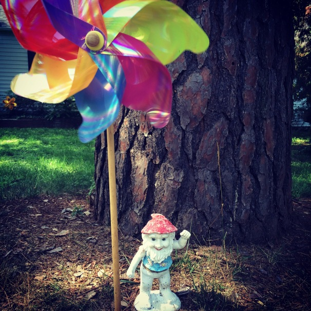 Don't forget to wave back to the gnome when you get outside.