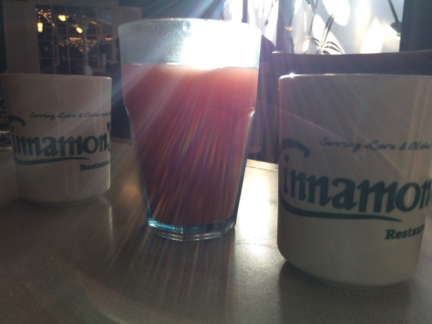 Gabby, you were right: Cinnamon's was the perfect treat after a sunrise hike to the Lanikai pillboxes.
